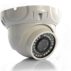 "Volcan - 1/4"" CMOS Dome IP Camera (720p HD, POE, H.264)"