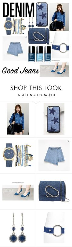"""""""Nice Jeans!😻👍"""" by nanamochi ❤ liked on Polyvore featuring Wildflower, Mixit, 3.1 Phillip Lim, Nine West and Boohoo"""