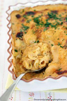 Three Cheese Pasta and Cauliflower
