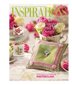 Subscribe to Inspirations embroidery magazine for 2012 prices