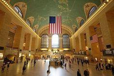 Est. trenes: Grand Central, NY, USA.-