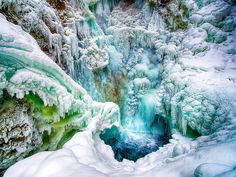 Thunderbird Falls near Eagle River Alaska.