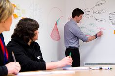 Smart Wall Paint is a unique dry-erase whiteboard paint that turns any surface into an instant, dry erase whiteboard.