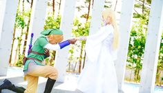 TLOZ Skyward Sword Link and Zelda - Cosplay by KyoCosplay