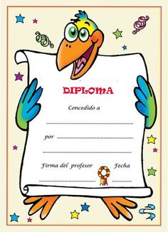 Diplomas Para Premiar A Los Niños Te Reunimos En Esta Entrada, Diferentes  Diplomas Para Entregar