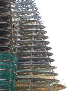 wangjing SOHO by zaha hadid construction in beijing