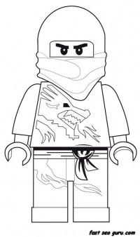 Printable Lego Ninjago coloring pages - Printable Coloring Pages For Kids