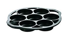 Pre-seasoned Cast Iron Cake Pan for Baking Biscuits, Desserts, and Cupcakes. ** Find out more about the great product at the image link. (This is an affiliate link) Fluffy Biscuits, Drop Biscuits, Baking Biscuits, Keto Biscuits, Buttermilk Cornbread, Cornbread Mix, Mini Cake Pans, Mini Cakes, Keto Chili Recipe