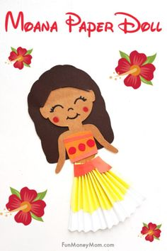 Disney Princess Crafts, Princess Games, Disney Crafts, Paper Doll Craft, Doll Crafts, Paper Dolls, Paper Crafts, Moana Crafts, Easy Crafts