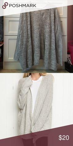 NEW Brandy Melville Gray Caroline Cardigan Sweater NEW Brandy Melville Gray Caroline Cardigan Sweater Brandy Melville Sweaters Cardigans