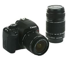I FINALLY ordered it!  Canon EOS Rebel T3i DSLR 18 MP Camera w/2 Lenses, Bag & 8GB SD Card