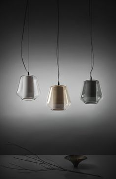 Products 2015 - Etica new - Suspension Lamp - Porcelain foil painted inside with crystal glass shell - Outer glass shell available in three colors : crystal, amber and smoked - Handmade - Elegant and unique - Highly decorative for interiors (living room, offices...) - Registered design by ILIDE (www.ilide.it)
