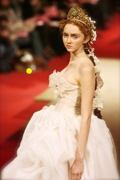 Lily Cole, Christian Lacroix Couture S/S 2006