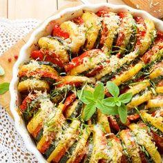 Kartoffel Zucchini Tomaten Gratin                                                                                                                                                                                 Mehr