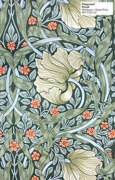William Morris - Pimpernel Hand Print - WP 9226-01