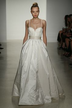 Amsale Bridal Fall 2014 - Slideshow - Runway, Fashion Week, Fashion Shows, Reviews and Fashion Images - WWD.com