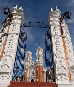 Basilica en Tlaxcala Mexico