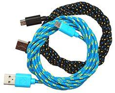 mySimple [10' Feet - 2 Pack] of Micro USB 2.0 Data Sync C…