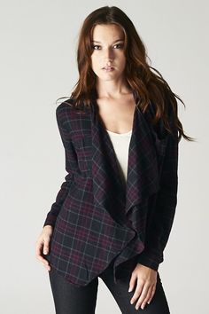 Charlie Shirt in Plaid on Emma Stine Limited