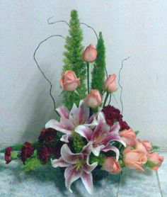Flower Arrangement Color