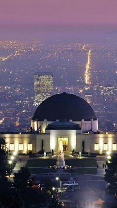 Griffith Park observatory, LA, California
