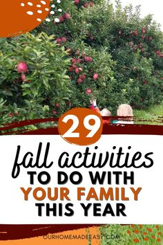 Do you set out each fall with a list of things you want to do, but never accomplish them all? Here are 29 things to put on your fall bucket list--along with with tips for how to do the ones you love!