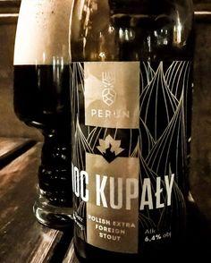 """Perun – """"Noc Kupały"""" Craft Beer, Wine, Drinks, Bottle, Beverages, Flask, Drink, Beverage, Jars"""