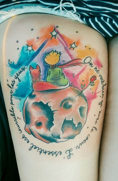 Le Petit Prince // The Little Prince #tattoo #littleprince