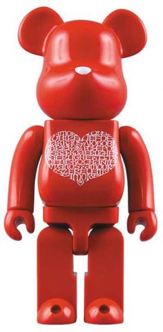Bearbrick x Stitch 1000% International Love Heart. T.O.P also owns this one.
