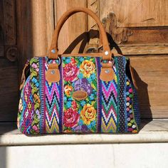 A personal favorite, this recycled Mayan fabric makes a beautiful Guatemalan handbag the vibrant colors and a perfect size makes it a great for anyone!