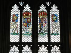 Eltham Palace - Stained Glass of the Great Hall