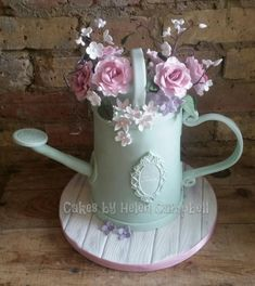 Watering Can Cake - Cake by Helen Campbell