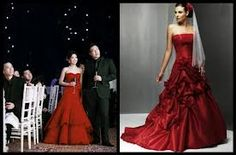 Red Wedding Dresses the Hottest Ideas for Bridal