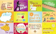 Free lunchbox printables to make #lunchingawesome