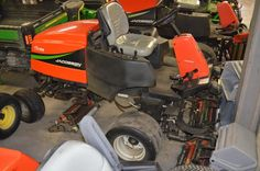 2008 Jacobsen SLF 1880 Fairway Mower w/groomers - For Sale