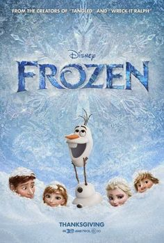 Frozen Poster with Characters