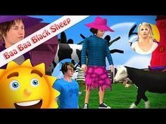 Baa Baa Black Sheep Cartoon 3D Animation Rhymes & Songs for Children