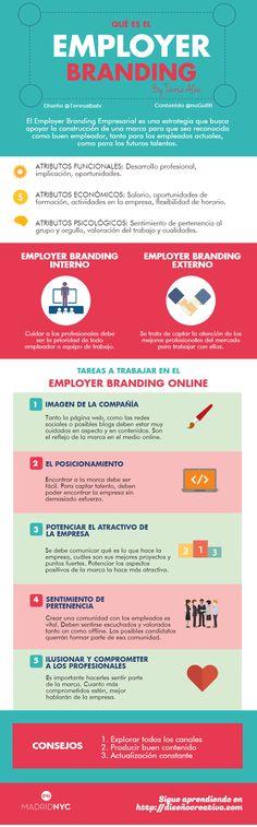 Qué es el Employer Branding #infografía #infographic #marketing #RRHH