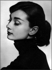 Audrey Hepburn-I see my Audrey in this picture.  :)
