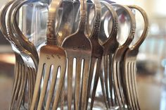 Great tutorial on how to stamp silverware. I have been wanting to learn how to do this