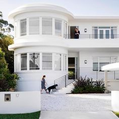 Sydney Art Deco home beautifully restored & renovated .. P&O architecture .. featured in houseandgarden & homestoloveau - brookeaitkendesign