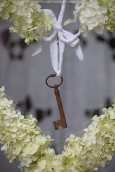 Heart and key to .  . .
