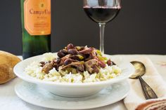 Kick off your shoes and stay awhile. It's Red Beans and Rice tonight.