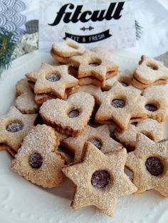 Healthy Sweets, Christmas Cookies, Low Carb, Fresh, Baking, Recipes, Food, Crack Crackers, Diet