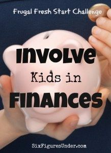 We often overlook the benefit of involving our kids in finances. In fact, in many cases, we do our children a disservice by not involving them more in finances.  Here's why you might want to involve your kids in reaching your financial goals.