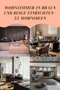 Ein Wohnzimmer In Braun Und Beige Wirkt Einladend Und Wohnlich   Doch Wie  Sieht Eine Gelungene