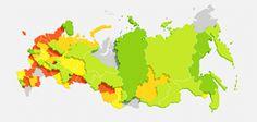 Детские площадки в российских дворах / ФОМ