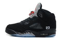 Nike Air Jordan AJ5 Retro Jordan 5 Basketball Shoes Men And Women Shoes Black Silver|only US$98.00 - follow me to pick up couopons.