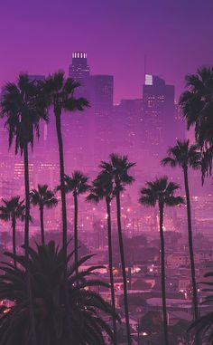 Cityscape Wallpaper, Trippy Wallpaper, City Wallpaper, Scenery Wallpaper, Wallpaper Backgrounds, Cityscape Art, Miami Wallpaper, Purple Wallpaper Iphone, Violet Aesthetic