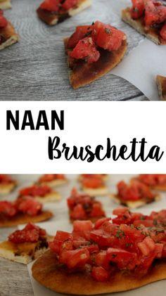 Naan Bruschetta - Le